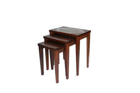 三連テーブル 桜
