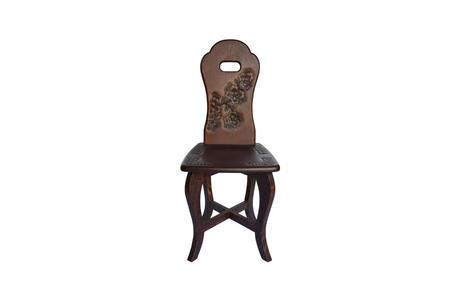 ハート椅子 手掛け付 桜