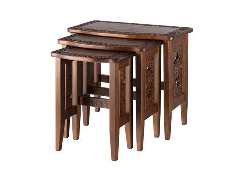 三連テーブル 大 透かし桜
