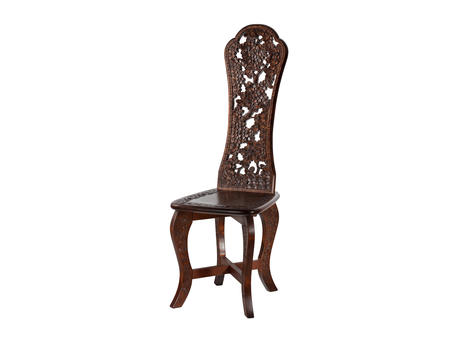 透かしハート椅子 桜